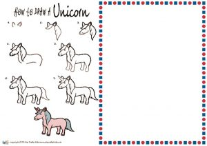 thumbnail of HOW to draw a Unicorn NEW
