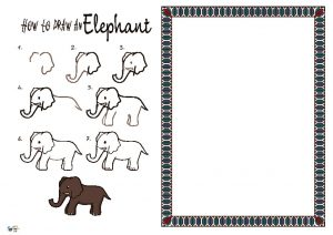 thumbnail of How to Draw a Elephant NEW