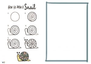 thumbnail of How to Draw a Snail NEW