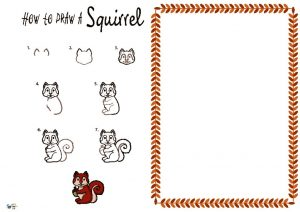 thumbnail of How to Draw a Squirrel NEW