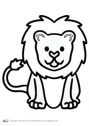 thumbnail of Lion Outline