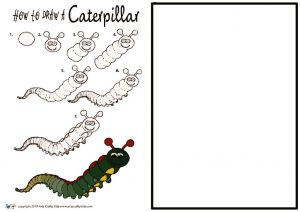 thumbnail of How to Draw a Caterpillar