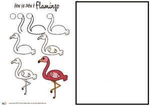 thumbnail of How to Draw a Flamingo
