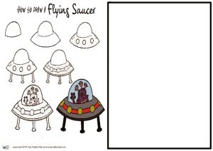 thumbnail of How to Draw a Flying Saucer