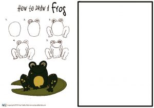 thumbnail of How to Draw a Frog