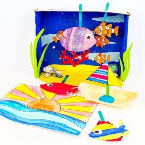 Arty Crafty Ocean Box