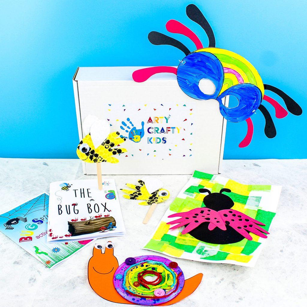 Arty Crafty Bug Box