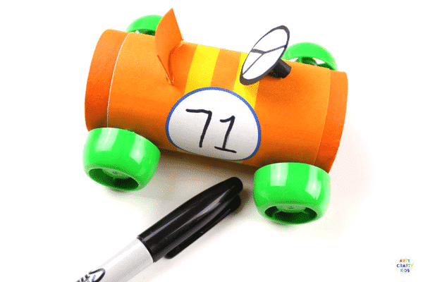 Paper Tube Race Cars Craft Ideas For Kids A Cool Car Craft For