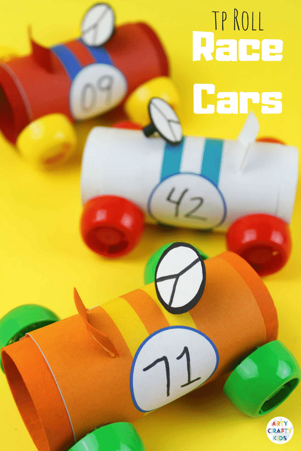 Paper Tube Racing Cars Arty Crafty Kids