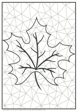 thumbnail of Leaf Abstract Art 4