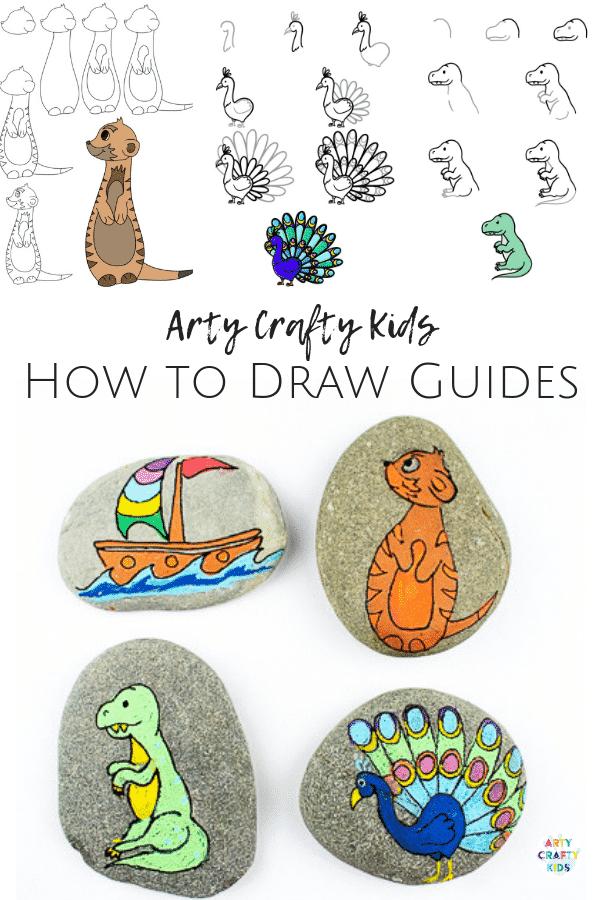 Arty Crafty Kids - Tree of Life Inspired Rock Art - Rock Painting Ideas for Kids #rockpainting #rockart #kidsart #easyartforkids