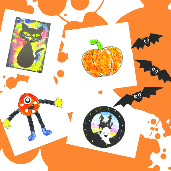Halloween-Box | Arty Crafty Kids