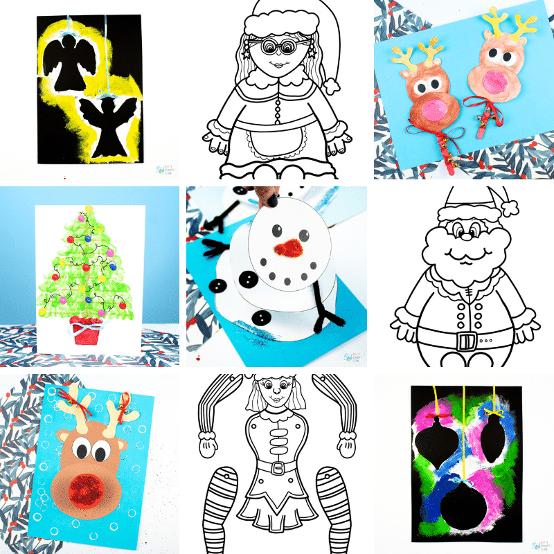 Arty CArty Crafty Kids Club - Printables