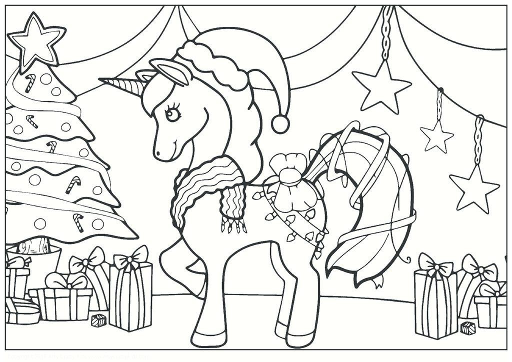 Christmas Unicorn Arty Crafty