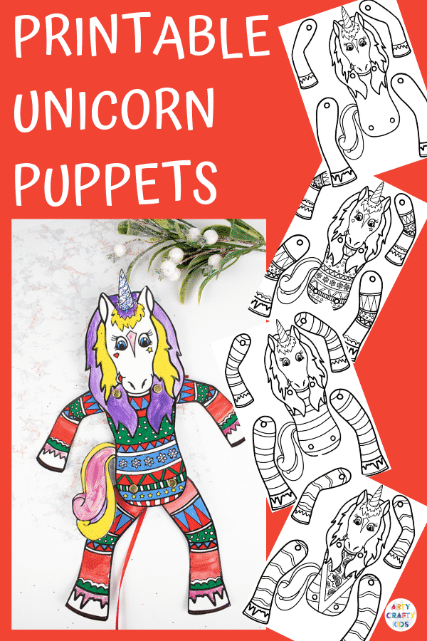 Unicorn Puppet Craft