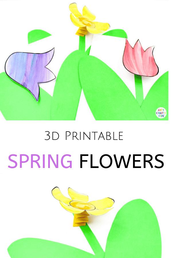 3d Spring Flower Craft Arty Crafty Kids