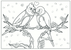thumbnail of Love Birds Version Two