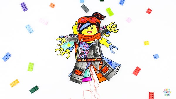 rty Crafty Kids | Lego Movie Printable Character Puppets.  A fun interactive Lego Craft for kids - just in time for the second instalment of The Lego Movie. Download and print our free Lego puppet bundle to create your favourite character. Kids can even have a go at designing their own or recreating another from the Lego Movie 2 #ad #TheLEGOMovie2