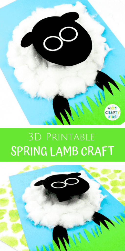 3D Spring Lamb Craft