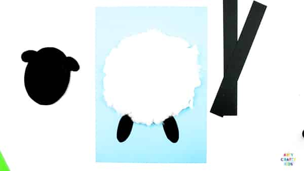 image about Sheep Craft Printable known as 3D Spring Lamb Craft Arty Cunning Small children
