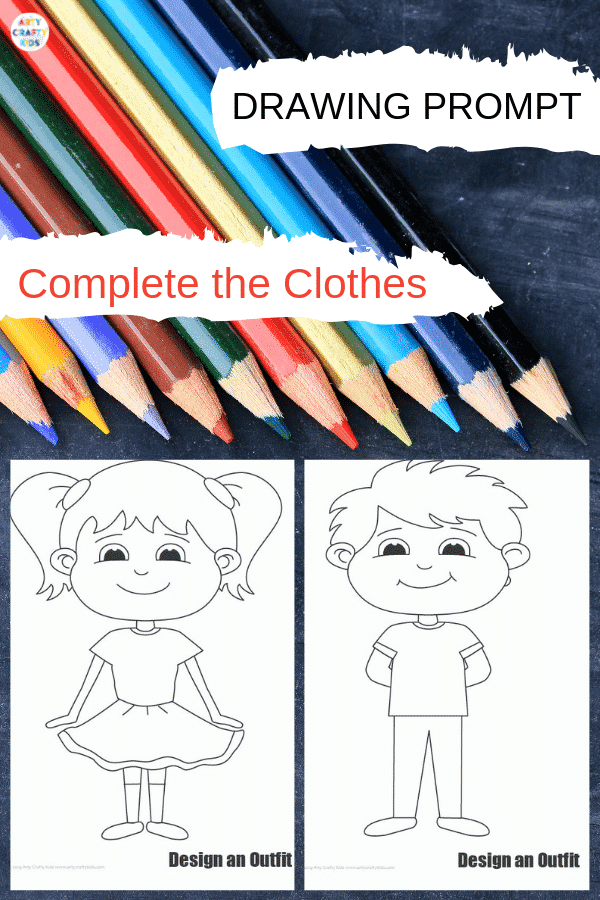 This 'complete the clothes' printable template has been designed to encourage children to engage their inner designer; exploring colours and patterns to portray their style and what they like to wear.