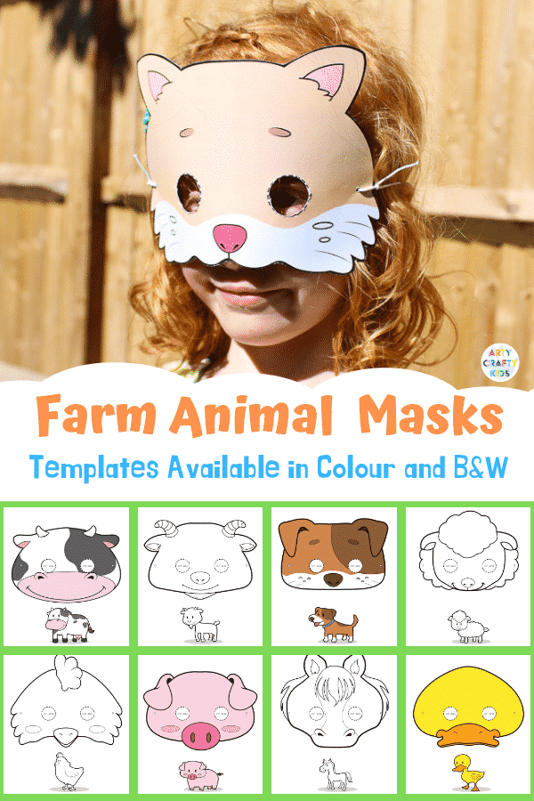 Arty Crafty Kids Masks