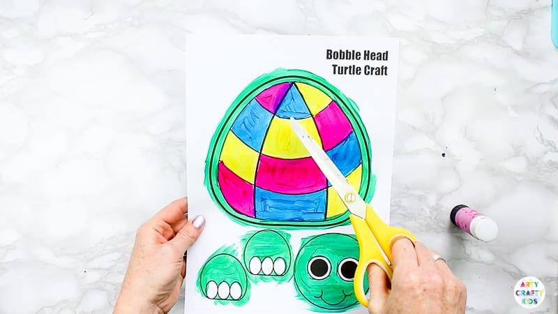 Easy Turtle Craft for Kids to Make.