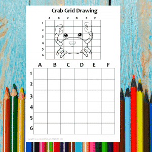 Crab Grid Drawing
