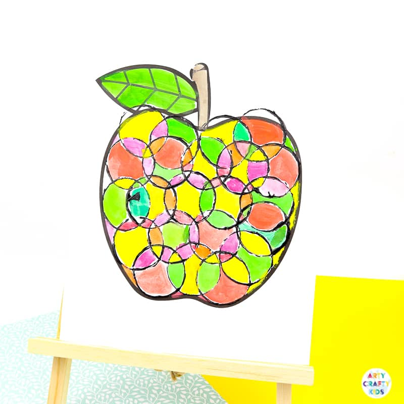 Arty Crafty Kids | Apple Craft for Kids | Autumn Craft for Kids | Back to School