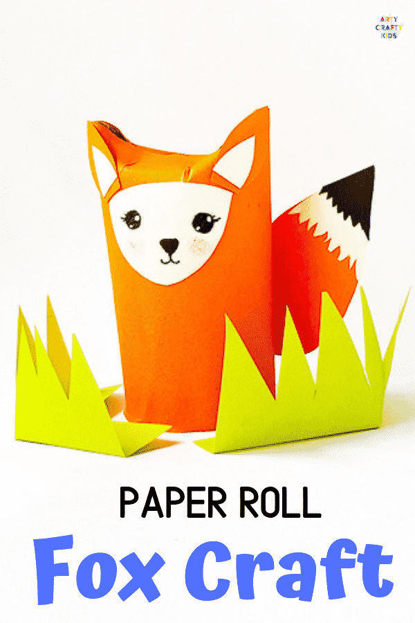 Toilet Paper Roll Fox Craft Arty Crafty Kids