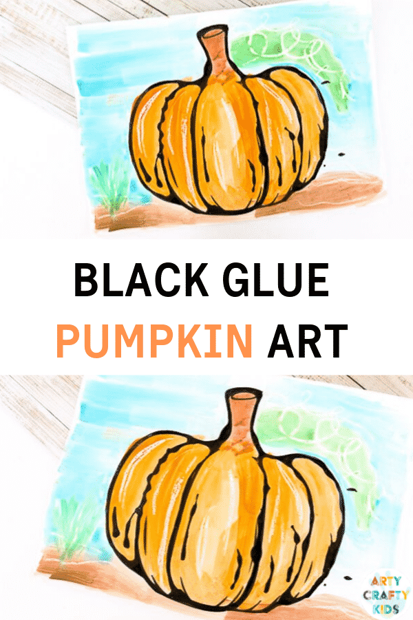 Black Glue Fall Art Projects Arty Crafty Kids