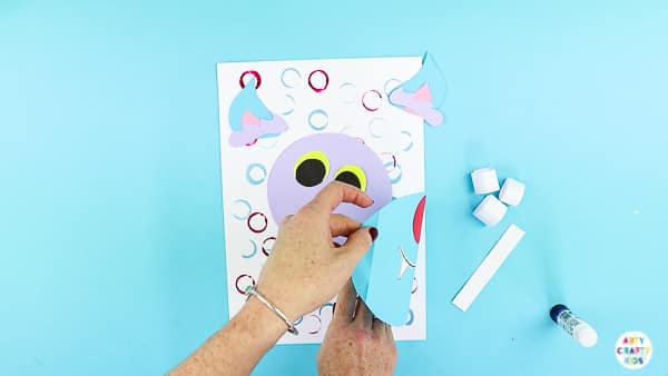 Arty Crafty Kids | 3D Paper Wolf Craft for Kids