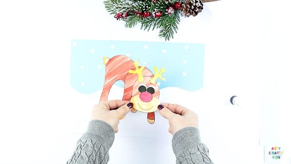 Assemble the Reindeer Craft