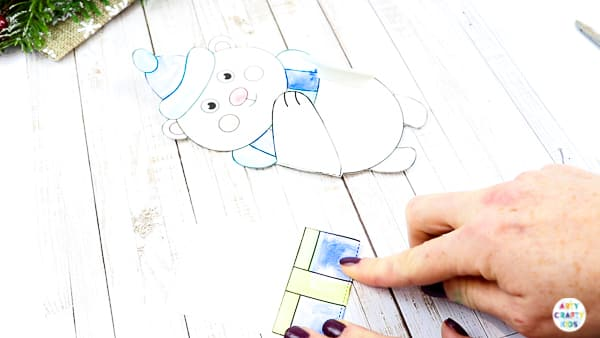 Cute Winter Animal Printable Christmas Cards for kids to make| An easy Christmas craft for kids | Available in three adorable designs