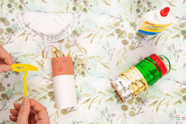 Arty Crafty Kids | Toilet Paper Roll Angel for Kids to Make