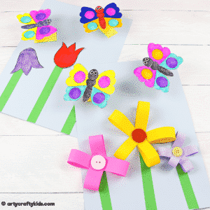 Bobble Butterfly Craft