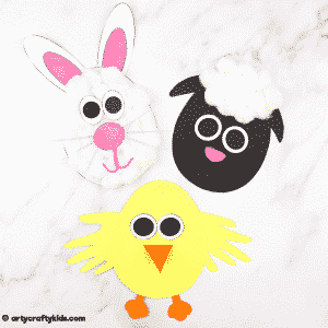 Easter Egg Spring Animal Craft