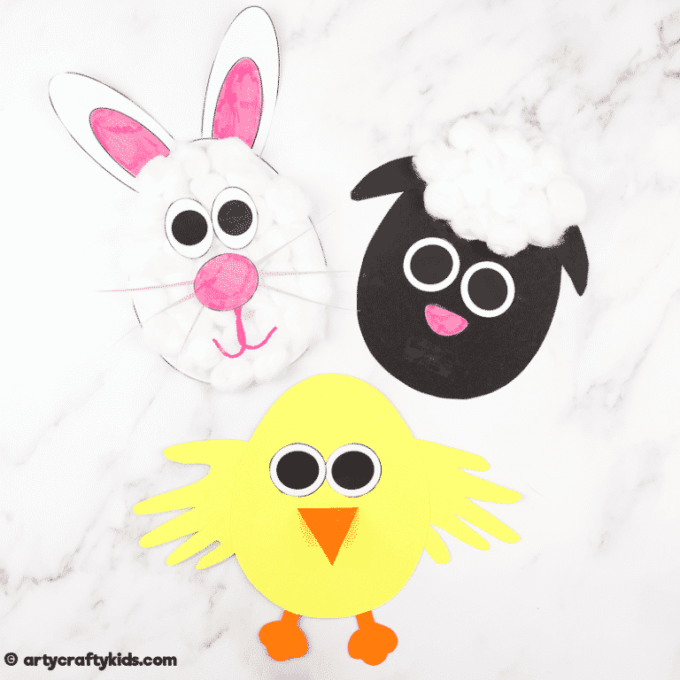 Easter Egg Spring Animal Craft