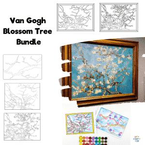 Van Gogh Blossom Tree Bundle