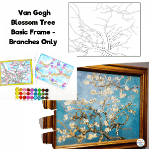 Van Gogh Blossom Tree - Basic Frame with Branches Only