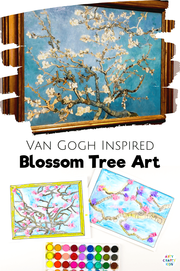 Van Gogh Inspired Blossom Tree - Spring Art Project for Kids.