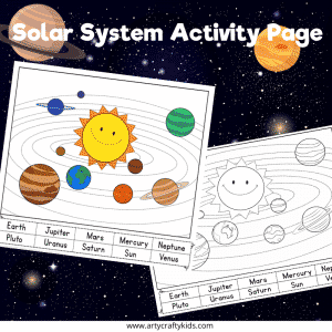 Solar System Activity Pages