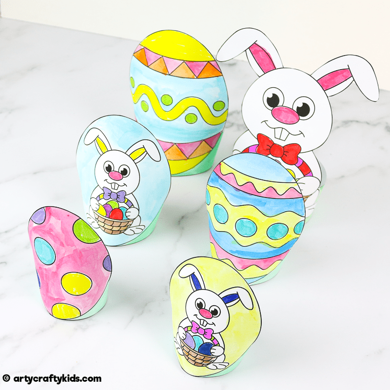 Printable Easter Paper Toy