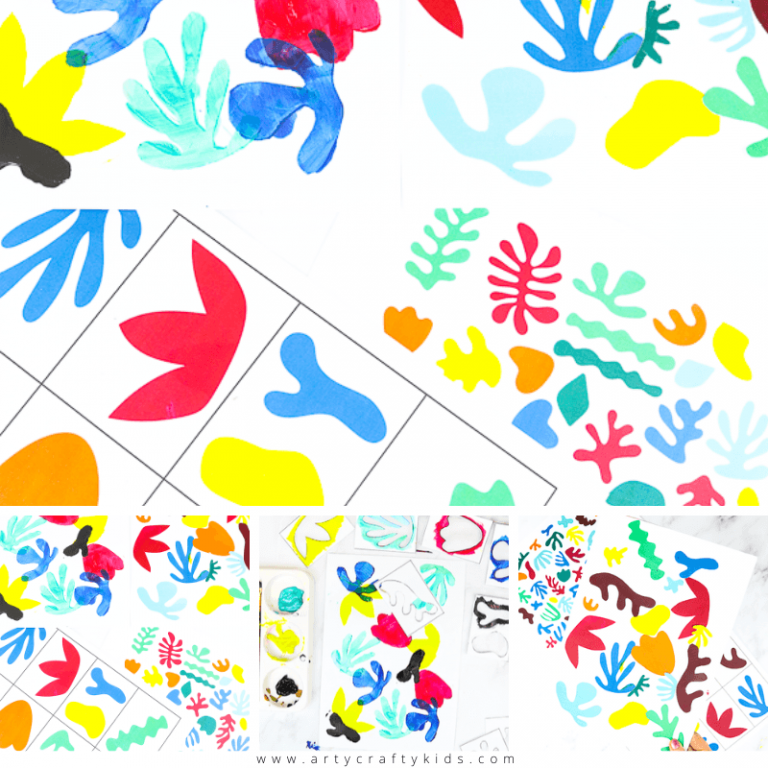 Easy Matisse Art Project for Kids