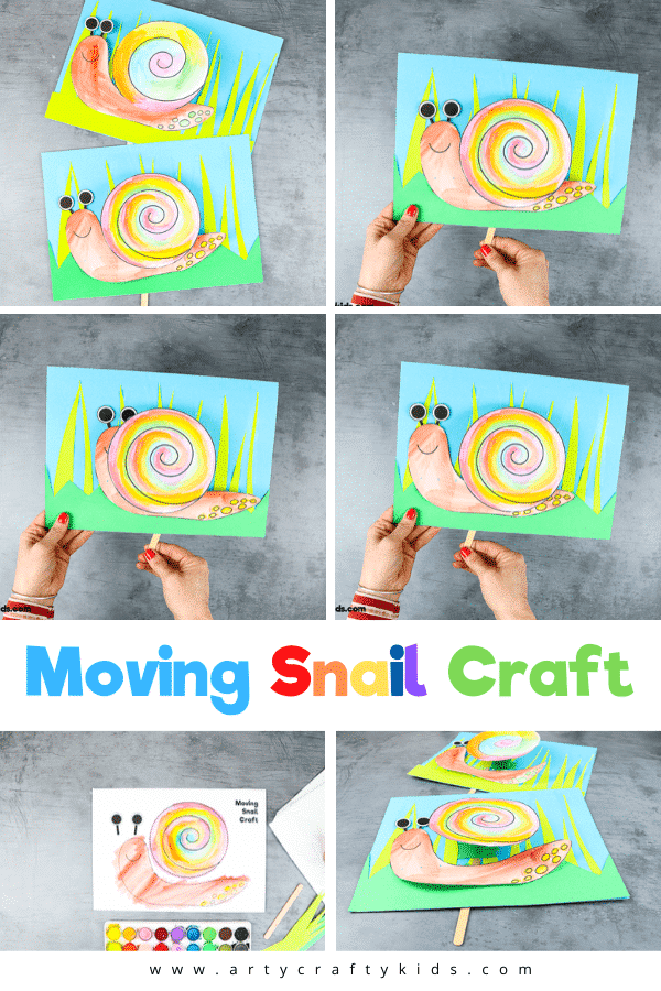 Play snail peek-a-boo with this fun and easy interactive snail craft for kids. This easy bug craft for kids is a lovely way to encourage learning on the topic of mini-beasts