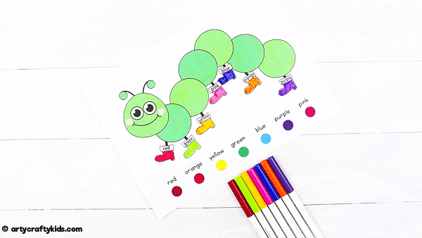 Bugs Preschool Activity Book:  we've put together a fabulous mini activity book for pre-schoolers, including three different activity pages to help them explore numbers, shapes and colors, plus two bonus coloring pages!