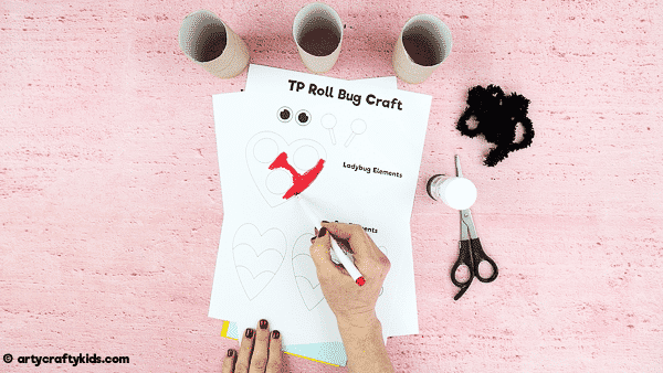 It's time to raid the recycling bin and gather some paper rolls to make adorable Toilet Paper Roll Bugs! This is a super easy bug craft for kids to help bring the outside, inside.