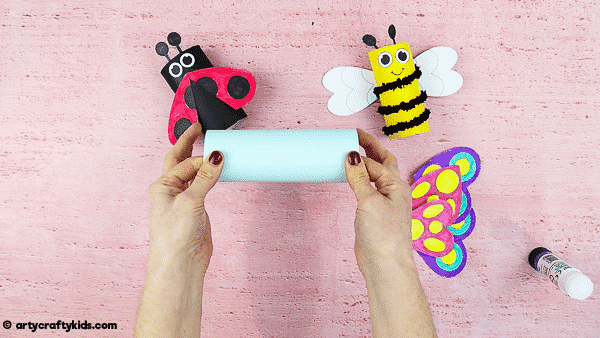 How to Make a Toilet Paper Roll Butterfly. A fun and easy Spring craft for Kids.