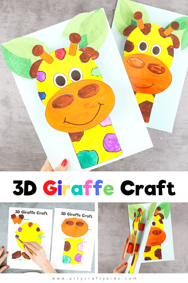 Our 3D paper giraffe craft is the perfect engaging activity for pre-schoolers and school early years to strengthen fine motor skills and keep them entertained.