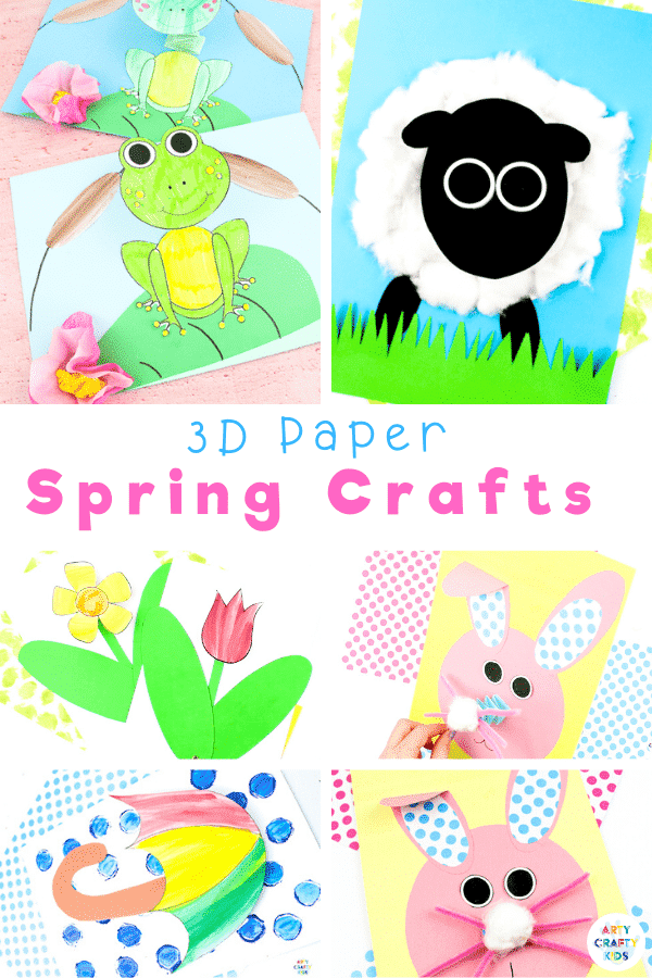 Explore our collection of fun and interactive 3D Paper Crafts for kids; featuring paper crafts From Spring to Halloween to Christmas; from land animals to sea animals to bugs, we have a 3D paper craft to keep your children busy all year round.